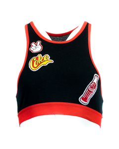Coca-Cola Patches Bralet