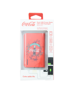 Coca-Cola Always Dual Power Bank