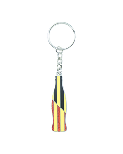 Coca-Cola Germany Flag Bottle Keychain