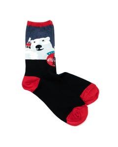 Coca-Cola Polar Bear Cheers Women's Socks