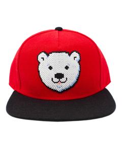 Coca-Cola Polar Bear Head Baseball Cap