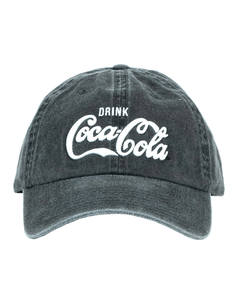 Coca-Cola Drink Washed Baseball Cap