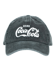 Coca-Cola Drink Washed Baseball Cap