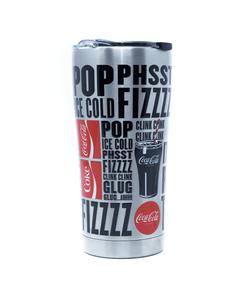 Coca-Cola Fizz Stainless Steel Tervis Tumbler - 20oz