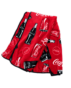 Coca-Cola Icons Red Plush Blanket