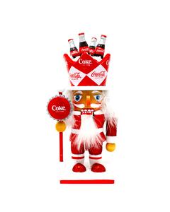 Coca-Cola Small Nutcracker Figurine