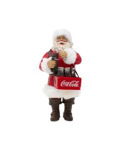 Coca-Cola Santa Opening Bottle Ornament
