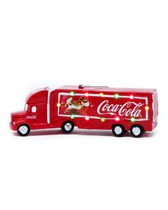Coca-Cola Truck W/Lights Ornament