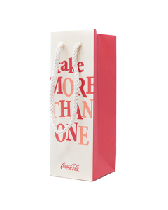 Coca-Cola Extra Fun Bottle Gift Bag