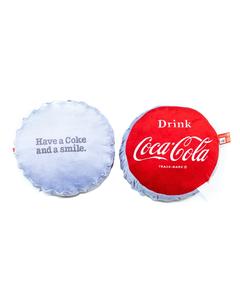 Coca-Cola Bottle Cap Pillow