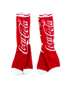 Coca-Cola Cozy Women's Socks - 2PK