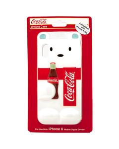Coca-Cola Polar Bear Die Cut iPhone X/XS Case