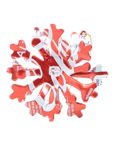 Coca-Cola Can Snowflake Ornament