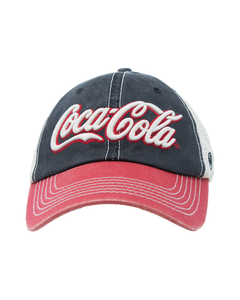 Coca-Cola Script Off Road Mesh Baseball Cap