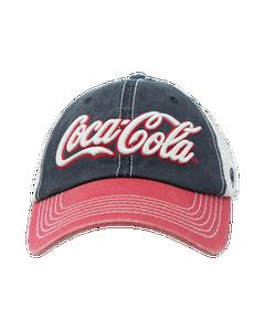 Coca-Cola Script Off Road Mesh Baseball Cap