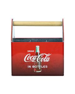 Coca-Cola Tin Utensil Caddy