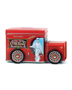 Coca-Cola Delivery Truck Tin Container