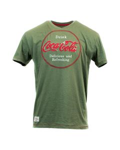Coca-Cola Delicious & Refreshing Disc Men's Tee