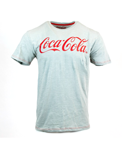 Coca-Cola Script Men's Slub Tee