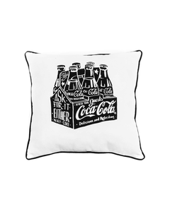 Coca-Cola Chalk Talk 6 Pack Pillow
