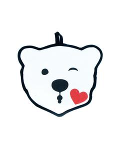 Coca-Cola Polar Bear Emoji Pot Holder