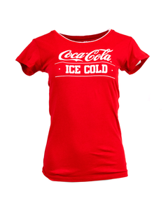Coca-Cola Ice Cold Women's Ringer Tee