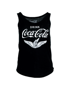 Coca-Cola Chalk Talk Wings Women's V-Neck Tank