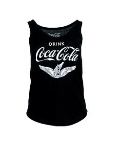 Coca-Cola Chalk Talk Wings Women's V-Neck Tank