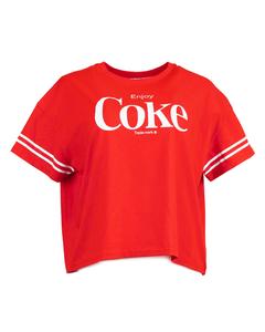 Coca-Cola Enjoy Women's Crop Tee