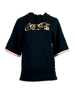 Coca-Cola Gold Script Women's Boxer Hoodie