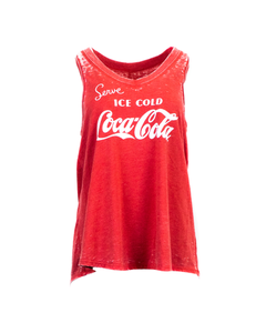 Coca-Cola Script Ice Cold Women's Tank