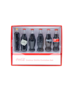 Coca-Cola Mini Bottles Evolution Set