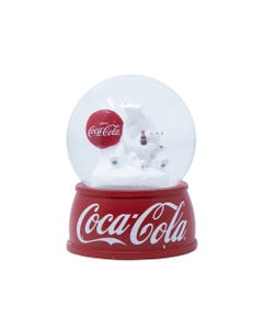 Coca-Cola Polar Bear Mini Snow Globe