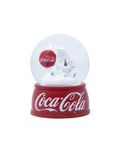 Coca-Cola Polar Bear Mini Snow Globe