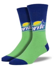 Sprite Logo Men's Socks