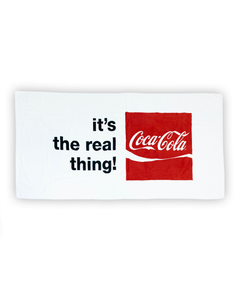 Coca-Cola Real Thing Towel