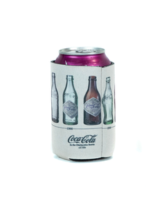 Coca-Cola Bottle Evolution Coozie