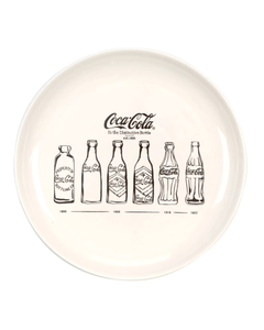 Coca-Cola Bottle Evolution Dinner Plate-10.5""