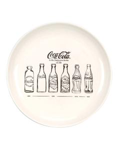 "Coca-Cola Bottle Evolution Dinner Plate-10.5"""