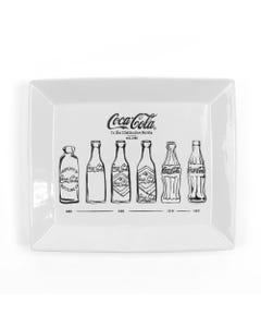 Coca-Cola Bottle Evolution Platter