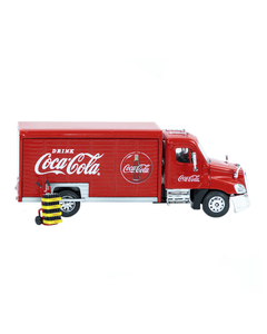 Coca-Cola Beverage Truck W/Sliding Doors