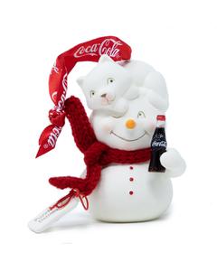 Coca-Cola Purrfectly Delicious Snowpinion Ornament