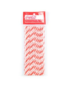 Coca-Cola Paper Straws - 25PK