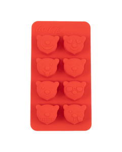 Coca-Cola Polar Bear Emoji Ice Cube Tray