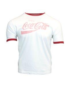Coca-Cola Vintage Fade Men's Ringer Tee