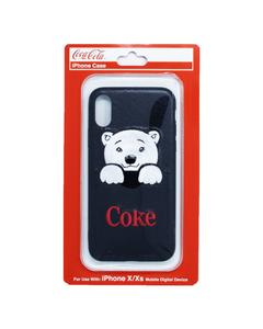 Coke Polar Bear Pocket  iPhone XS Case