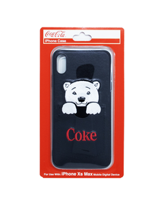 Coke Polar Bear Pocket iPhone XSMax Case
