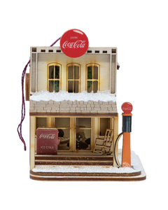 Coca-Cola Cottage Country Store Ornament