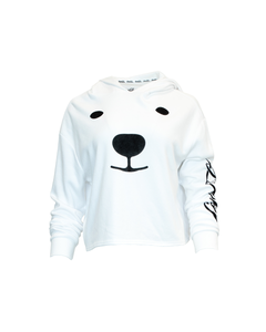 Coca-Cola Polar Bear Face Women's Hoodie