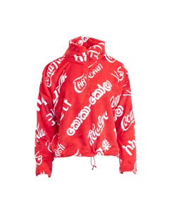 Coca-Cola Languages Women's 1/2 Zip Minky Fleece